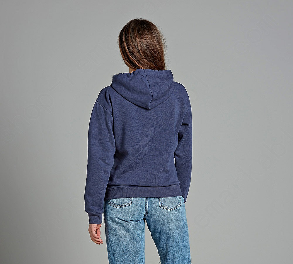 Brave Soul Lady Clarence Hooded Top - -4