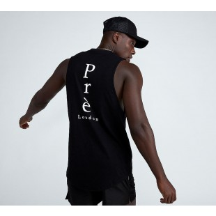 Pre London Sleeveless Back Logo Vest Mens